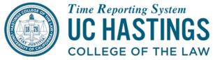 UC Hastings Time Reporting System